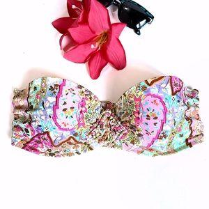 Victoria's Secret Push-up Bandeau Bikini Top 34D